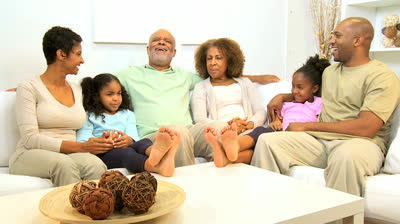 stock-footage-extended-african-american-family-spending-social-time-together-home