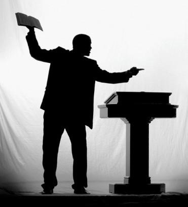 silhoete-preacher-e1312840985735