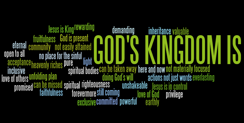 how to look for the kingdom of god