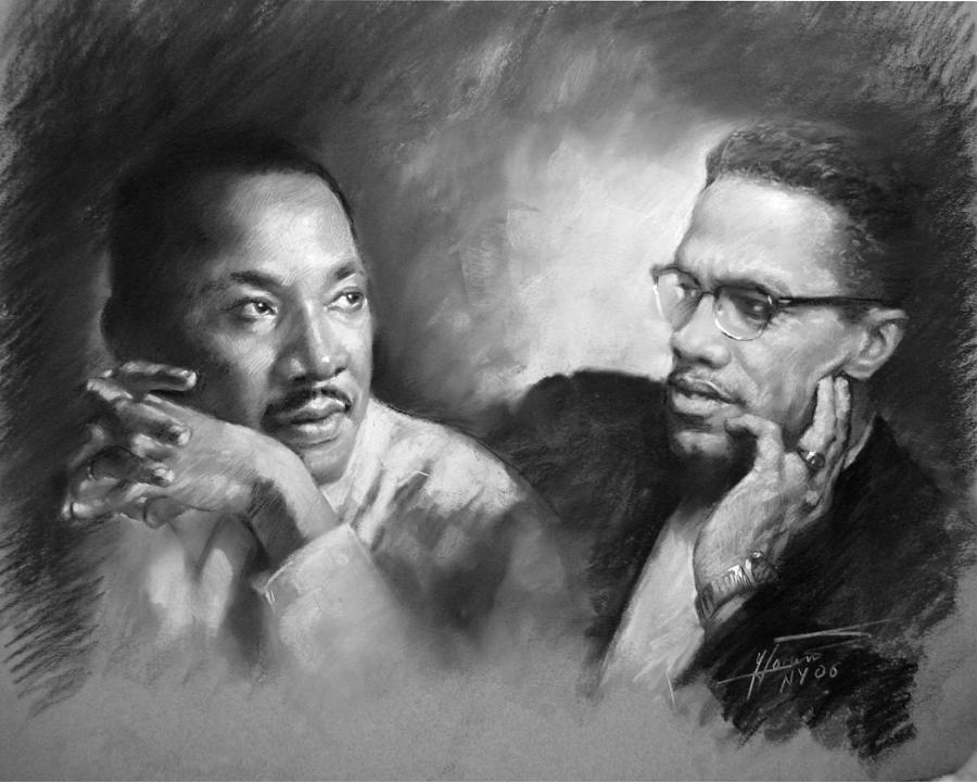 essay on martin luther king jr and malcolm x Similar Essays