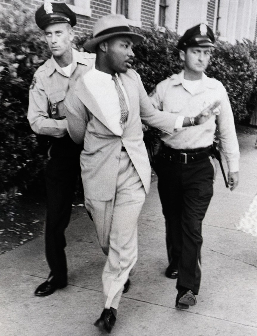 Police Arresting Martin Luther King