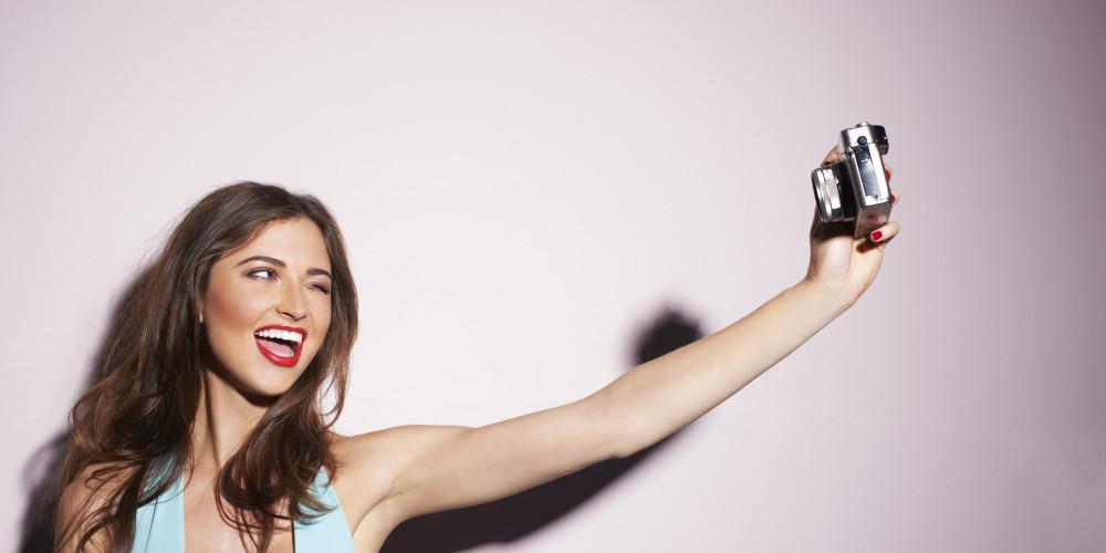 selfie-taking